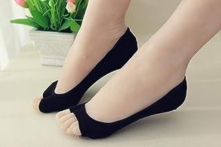 WEIZI, Verano Cómodo Algodón Niña Calcetines De Mujer Tobillo Bajo Femenino Color Invisible Niña Niño Calcetero 1 Par = 2 Piezas Xws08
