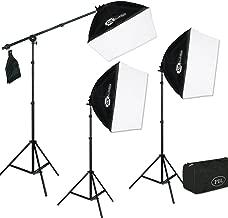 PBL Photo Video Studio EZ Softbox Lighting Kit Boom 750 Watts Steve Kaeser Photographic Lighting