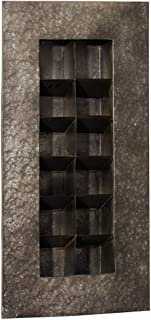 Best zinc 12 pocket metal wall planter Reviews