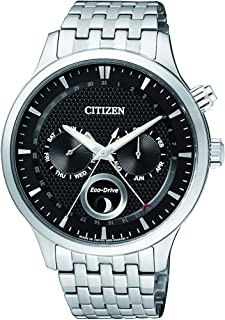 CITIZEN Mens Solar Powered Watch, Analog Display and Stainless Steel Strap AP1050-56E