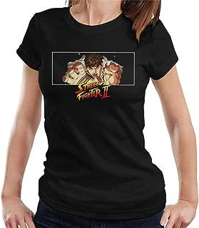 Street Fighter II Ryu Hadouken Women's T-Shirt