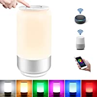 Lighting EVER WiFi Smart Table Lamp Works with Alexa Google Home