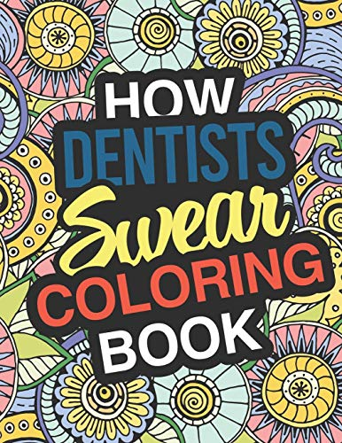 Adult Coloring Book For Dentists