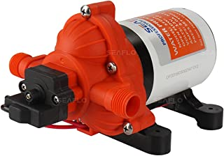 Water Diaphragm Self Priming Pump 3.0 Gallons/min (11.3 Lpm) 45 PSI New Rv/Marine 12 Volt..