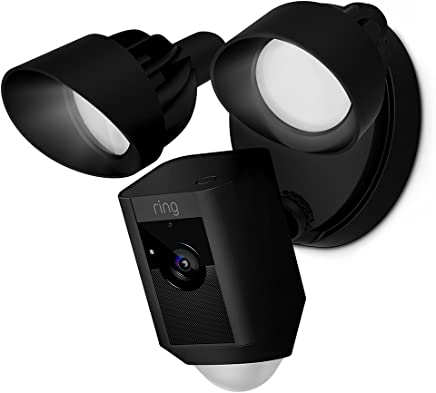 Ring Floodlight Camera Motion-Activated HD Security Cam...