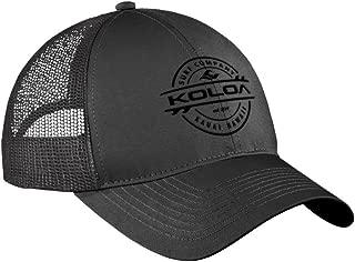 Koloa Surf Thruster Logo Old School Curved Bill Mesh Snapback Hats