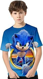 en muchos colores. Camiseta para ni/ño Trvppy tallas de 2 a12 a/ños modelo Sonic