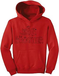 Tstars - ビッグブラザーへプレゼント  キュートビッグブラザープレゼント クレヨンキュートシャツ かわいいブラザープレゼントシャツ キッズパーカー