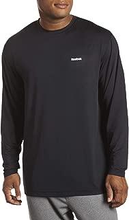 Reebok Big and Tall Play Dry Long-Sleeve Base Layer Top