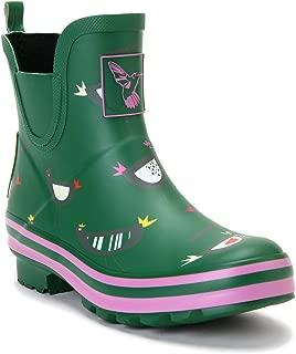 Evercreatures Women's Rain Boot Ankle Boots Meadow Wellies Garden Boot UK Brand