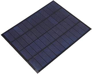 Alomejor 5W 12V DIY Solar Panel Mini generador de energía Solar Recargable Sun Powered Pack de Carga para Uso de Emergencia al Aire Libre