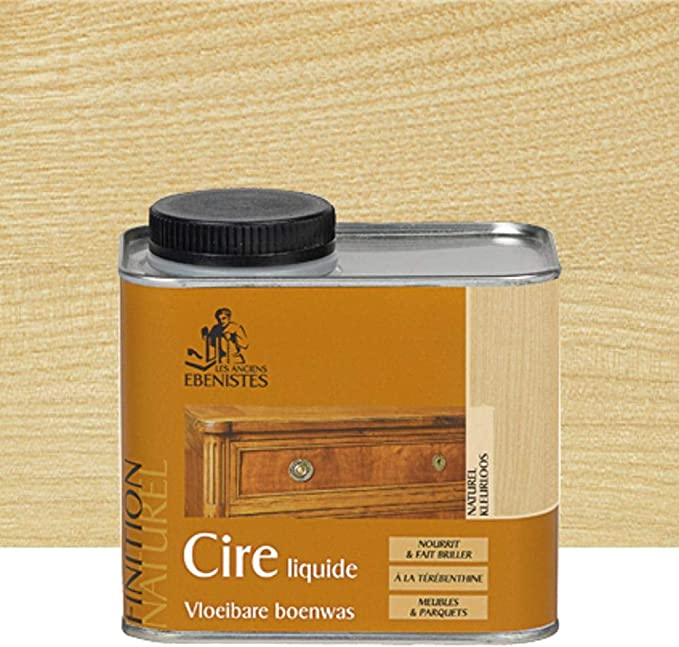 Cera líquida de 450 ml natural – Los antiguos ébénistas ...