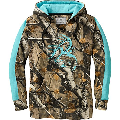Legendary Whitetails Ladies Outfitter Hoodie Army XX-Large