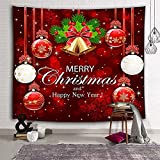 KHKJ Tapiz de decoración de Chimenea de Navidad Tapiz de Paisaje Natural Tapiz de decoración de Dormitorio de Chimenea Tapiz A5 200x180cm