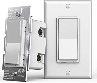 Z-Wave Plus Smart Dimmer Light Switch 3 Way | Built-in Z-Wave Repeater | Works with Existing Regular 3-Way Switch, Zwave Hub Required, Works with SmartThings, Wink, Alexa (ZW31)