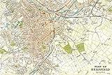 // TPCK // Poster, Motiv: Landkarte von Sheffield aus dem