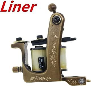Thomas Coil Tattoo Machine Gun Brass Frame Handmade for Liner 8 Wrap Coils