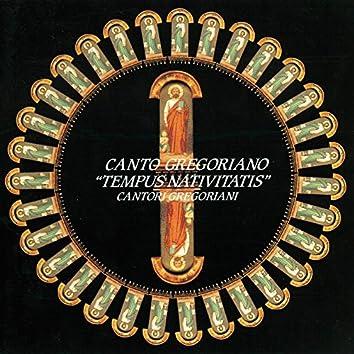 """Canto Gregoriano """"Tempus Nativitatis"""""""