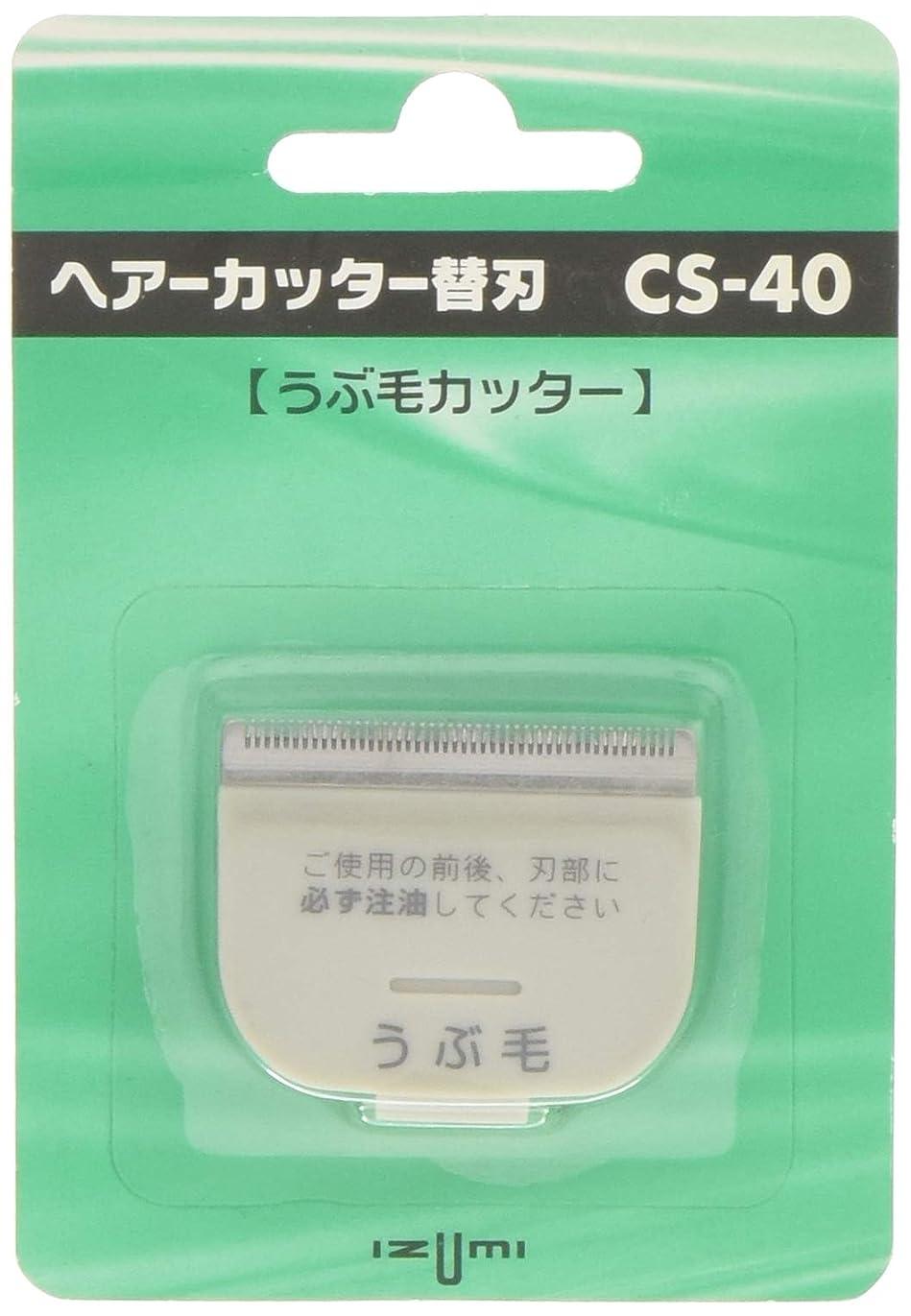 ブーストスピーカーのスコアIZUMI ヘアーカッター用替刃 うぶ毛カッター CS-40