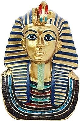 ff38b800de6f Ky   Co YesKela Pharaoh King Tut Mask Bust Small Decorative Figurine 4.25