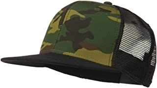 camo flat bill fitted hats