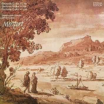 Mozart: Sinfonie G-Dur / Sinfonie B-Dur / Sinfonie C-Dur