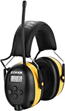ZOHAN EM042 AM/FM Radio Headphone with Digital Display, Ear Protection Noise Reduction..