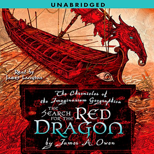 The Search for the Red Dragon audiobook cover art