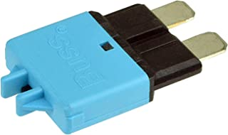 Plug In Mounting, 15 Amps, Blade Terminal Connection Bussmann CB222-15 CB222 Series Automotive Circuit Breaker