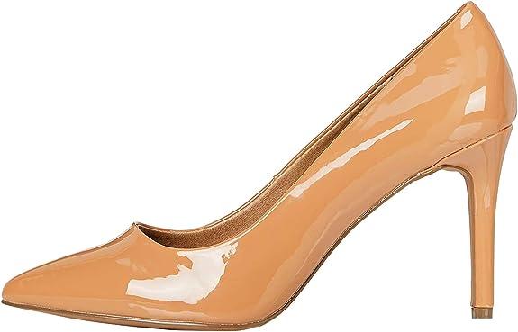 Marca Amazon - find. Mujer Zapatos de tacón con punta cerrada