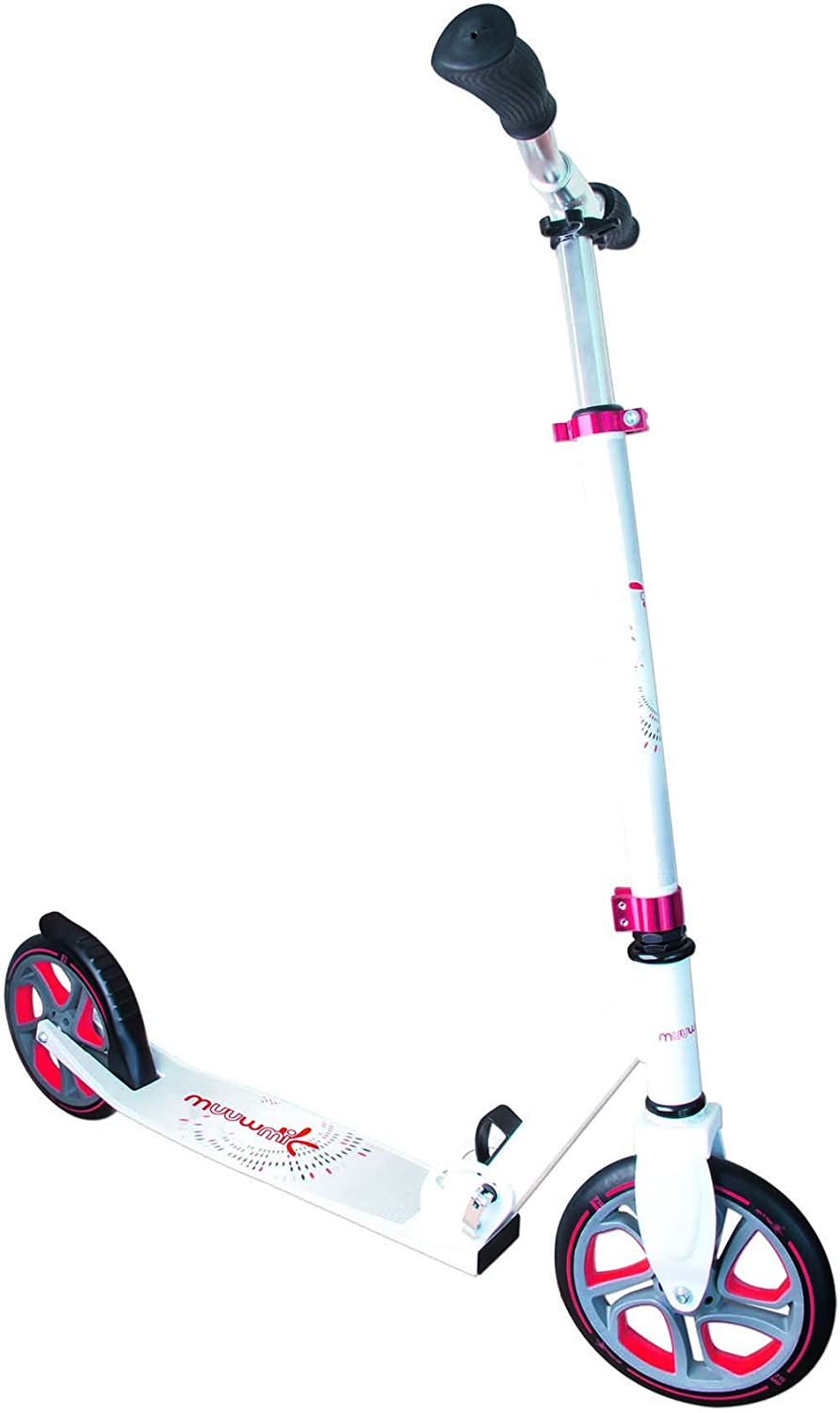 Authentic Sports 341 Aluminum scooter Muuwmi White Red 215