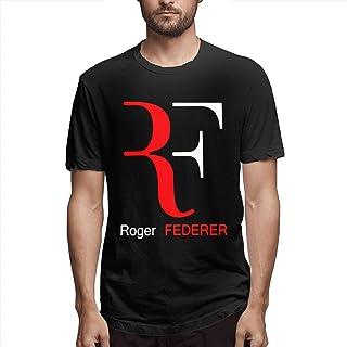 JuneBart los Hombres Ocasional de la Calle de Moda su/éter impresi/ón de Cobertura su/éter Encapuchado Roger Federer RF de los Hombres Dongkuan