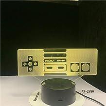 LXXYD 3D Visual Light Optical Illusion Led Night Light - Game Ledusb Table Lamp 7 Color Visual Lighting Children's Gift Be...