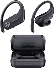 Wireless Headphones, WixGear Bluetooth 5.0 Sport Earbuds Hi-Fi Stereo Bass Sound 130H Playtime IPX7 Waterproof Over Ear Wi...
