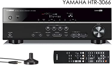 Yamaha HTR-3066 Home Theater Receiver HDMI 3D YPAO USB connection for Ipod Iphone Ipad or android phones and Tablets HTR3066