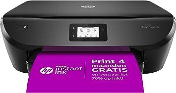 Amazon.nl-HP ENVY PHOTO 6230 All-in-One, Draadloze Wifi kleuren inktjet printer voor thuis (Afdrukken, kopiëren, scannen) Inclusief 4 maanden Instant Ink-aanbieding