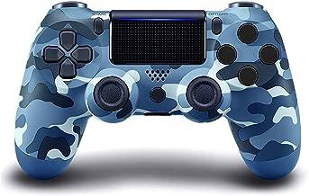 Controlador sem fio PS4, com Joystick de Jogo Campo de Vibração Dupla, Compatível com Console Playstation 4/Slim/Pro, com ...