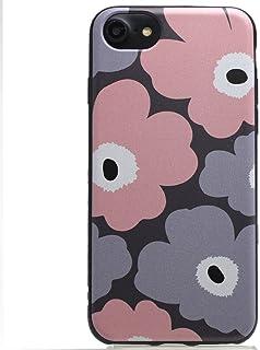 iPhoneシリーズ マリメッコデザイン TPUソフトケース(保護フィルム付) (iPhone6/iPhone6S/iPhone7/iPhone8共用, 004)