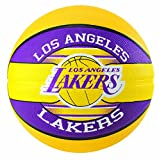 Spalding NBA Team L.A. Lakers 83-510Z Balón de Baloncesto, Unisex Adulto, Multicolor, 7