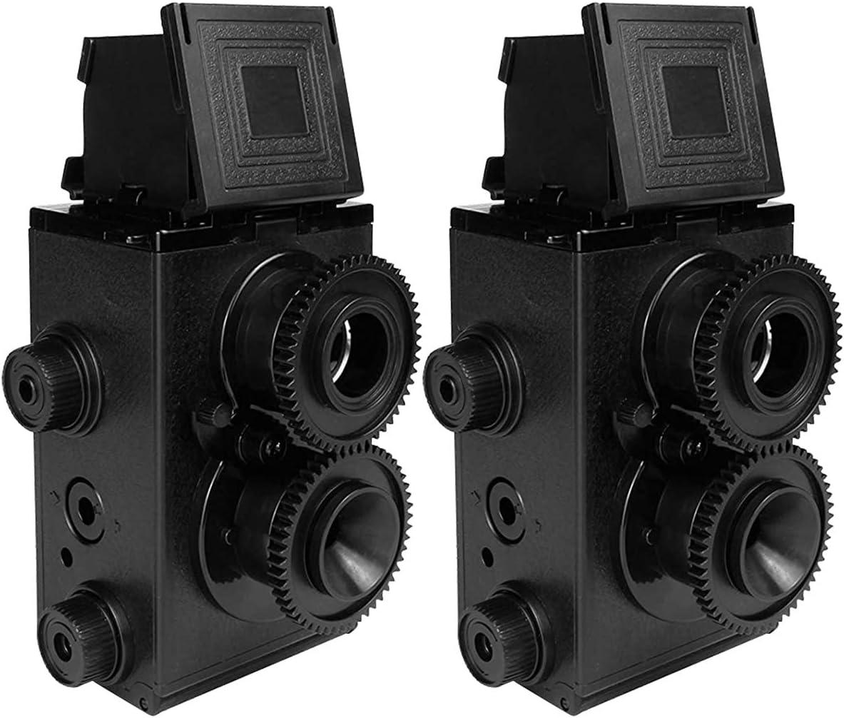 DEVMO 2 PCS service DIY Lightnes Classic Recesky Lomo Holga TLR Retro Ca Max 59% OFF