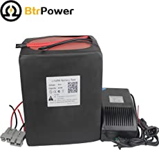 BtrPower 72V Ebike Battery 20AH 25AH 30AH 35AH Lithium ion / LiFeO4 Battery Pack with 5A Charger 50A BMS for 1000W 1500W 1800W 2000W Motor