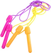 Abaodam 2 stks Kids PVC Jump Touw Springtouw Springen Oefening Apparatuur Sport Jump Skip Rope (willekeurige kleur)