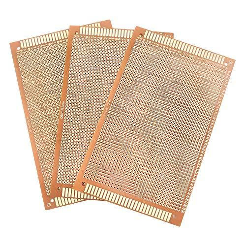10 Stück Lochrasterplatte, Leiterplatte, PCB Prototyp Board Universal, Lochrasterplatine, Leiterplatten Kit für Prototyping, DIY Projekte - 15 * 9 cm