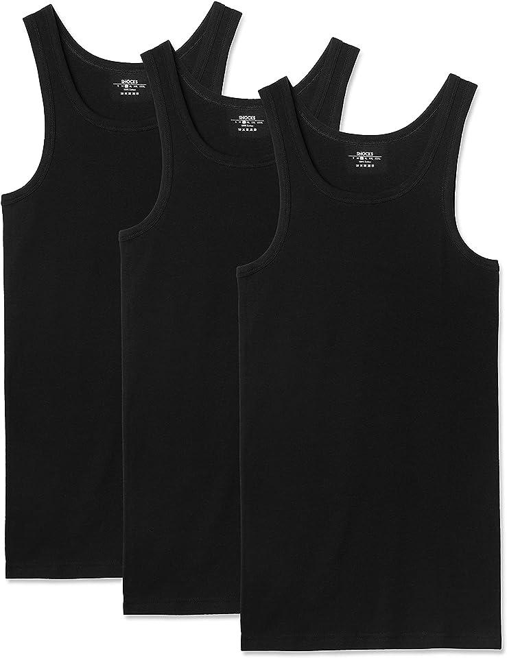 Tanktop Herren (3er Pack) Unterhemd Herren (S-3XL)