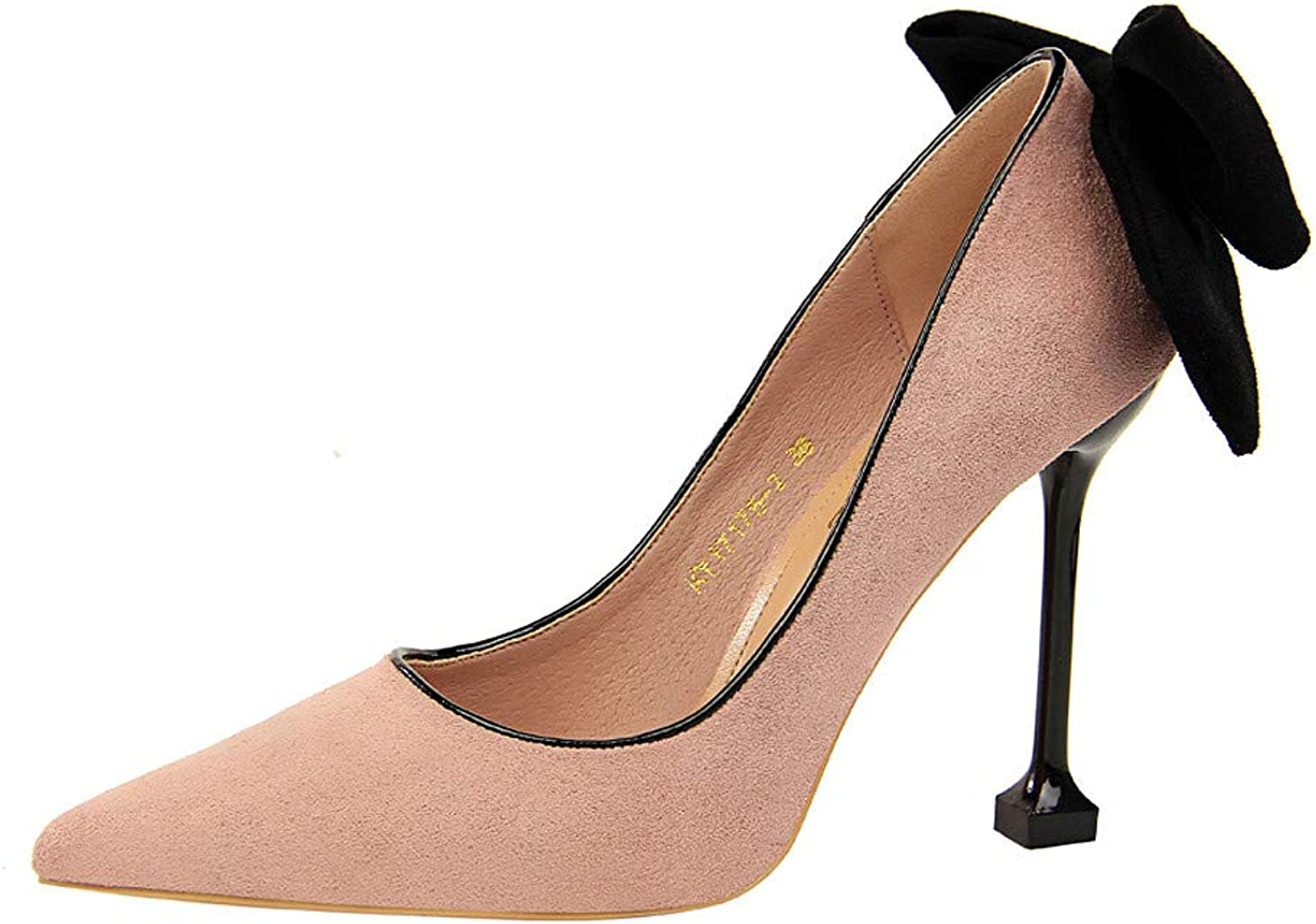 IINFINE Women Glossy Fresh colors Pointed Toe Heels Formal Dress Pumps shoes
