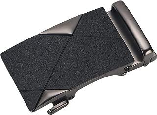 IPOTCH Classic Metal Automatic Buckle Ratchet Belt Buckle 4cm Width Belt Accessory