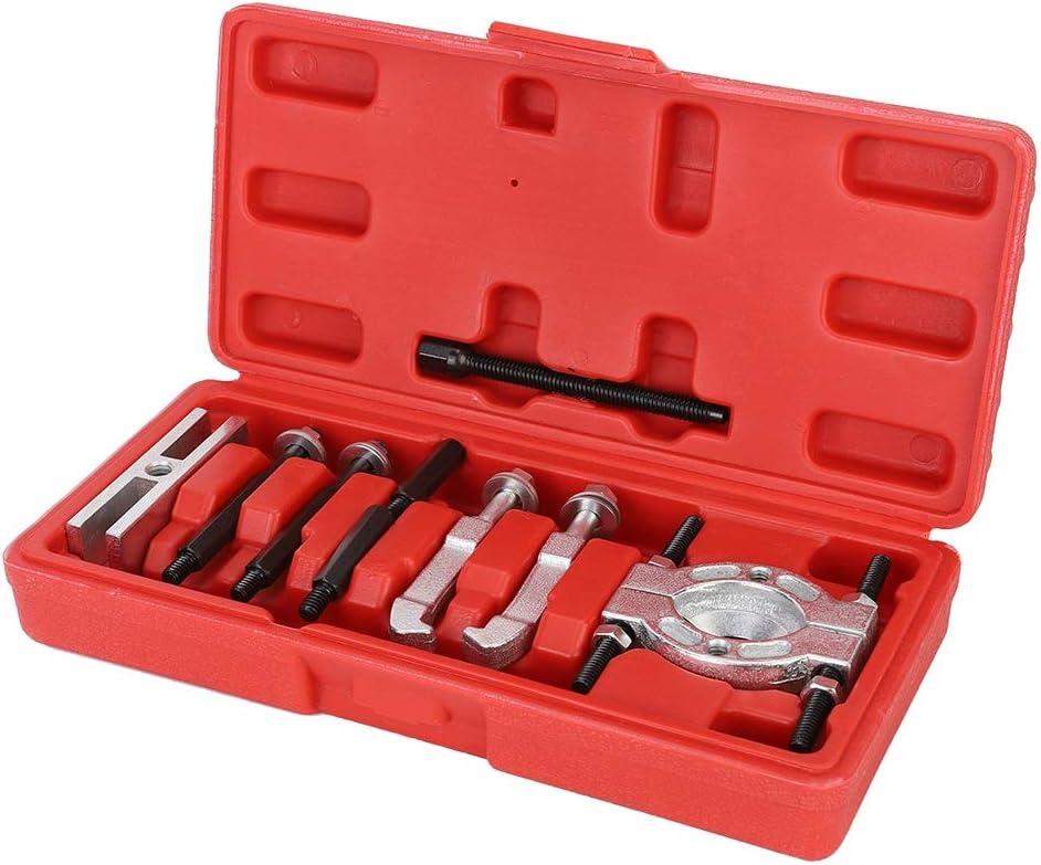 Juego de herramientas para separadores de rodamientos, juego de herramientas para separadores de rodamientos mini Juego de herramientas para extractor de rodamientos de cromo vanadio