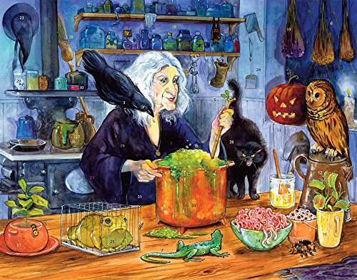 Vermont Christmas Company Witches' Brew Countdown to Halloween Calendar