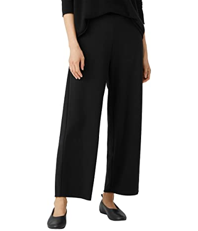 Eileen Fisher High-Waisted Straight Ankle Pants in Flex Ponte