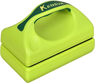 KEDSUM Magnetic Aquarium Fish Tank Cleaner, Fish Tank Glass Cleaner, Floating Clean Brush with Handle Design …